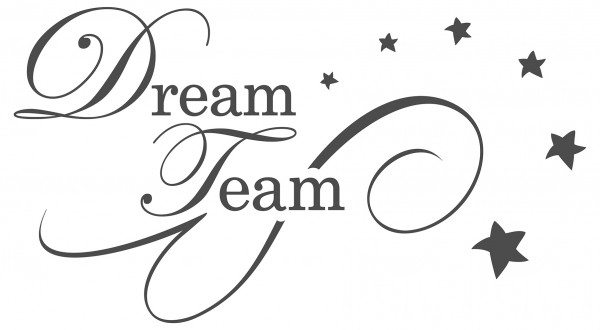 Wandtattoo Spruch Schlafzimmer Dream Team Dekoration